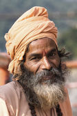 Indian sadhu (holy man) — Stok fotoğraf