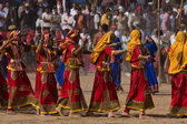 Pushkar fair in Pushkar, Rajasthan, India. — Stock Photo