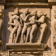 Erotic temple in Khajuraho, India. — Zdjęcie stockowe #31937907