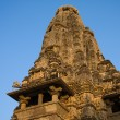 Vishwanathhindu temple in Khajuraho, India — Stock Photo #31938459