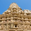 KandariyMahadevHindu Temple at Khajuraho in MadhyPradesh region of India. — Stock Photo #32148491