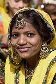 Pushkar Fair ( Pushkar Camel Mela ) Rajasthan, India — Stock Photo
