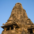 KandariyMahadevHindu Temple at Khajuraho in MadhyPradesh region of India. — Stock Photo #32641833