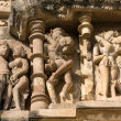 KandariyMahadevHindu Temple at Khajuraho in MadhyPradesh region of India. — Stock Photo #32641871