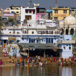 Pushkar, India. Top view. — Stock Photo