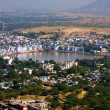 Pushkar, India. Top view. — Foto de Stock
