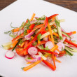 Fresh vegetable salad — Foto Stock