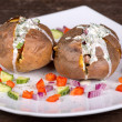 baked potato — Stock Photo