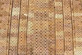 Detail of the wall of the temple at Khajuraho, India. — Stock Photo