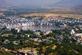 Pushkar, India. Top view. — Stock Photo