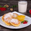 Cheese pancakes — Stock Photo