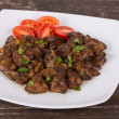 Chicken liver stir fry — Foto Stock