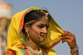 Pushkar fair (pushkar camel mela) rajasthan, india — Foto Stock