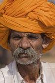 Pushkar Camel Mela in Rajasthan, India. — Stock Photo