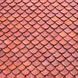 Clay roof texture — Stock Photo