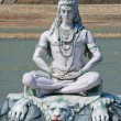Shiva statue in Rishikesh, India — Stock Photo #34511433