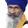 Sikh man in amritsar, india — Stockfoto
