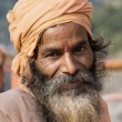 Indian sadhu (holy man). — Stock Photo
