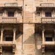 Stock Photo: Haveli (mansion) in Varanasi, India