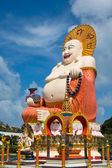 Happy Buddha statue, Koh Samui island, Thailand — Stock Photo