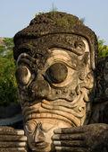 Enormes estátuas no parque de esculturas - nong khai, Tailândia — Fotografia Stock