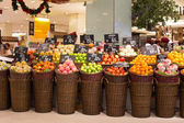 Fruit at a supermarket Siam Paragon in Bangkok, Thailand. — Stock Photo