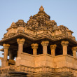 Hindu temple in Khajuraho, India — Stock Photo