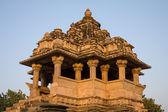 Hindu temple in Khajuraho, India — Stock Photo