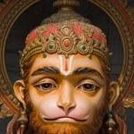 Hanuman statue in Rishikesh, India — Stock Photo