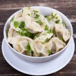 Traditional russidish - pelmeni — Stock Photo #35905077