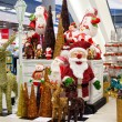 Rows of Christmas toys in a supermarket Siam Paragon in Bangkok, Thailand. — Stockfoto