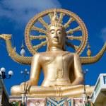 Big Buddha statue in island Koh Samui, Thailand — Stock Photo #36241775