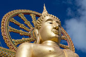 Big Buddha statue in island Koh Samui, Thailand — Stock Photo