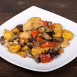 Roasted vegetables — Foto Stock