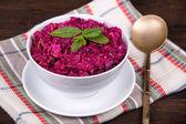 Salada de beterraba — Foto Stock