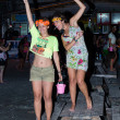 Stock Photo: Full Moon Party in Koh Phangan, Thailand.