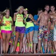 Foto Stock: Full Moon Party in Koh Phangan, Thailand.