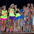 ストック写真: Full Moon Party in Koh Phangan, Thailand.