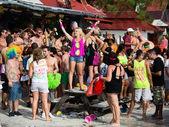полнолуния в ко панган в таиланде. — Стоковое фото