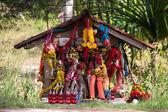 Thai spirit house — Stock Photo