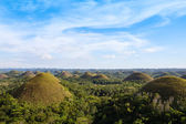 Chocolate Hills, Bohol Island, Philippines — Stockfoto