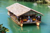 Exotic river cruise in Bohol Philippines — Stock Photo