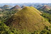 Chocolate Hills, Bohol Island, Philippines — Stock Photo