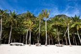 Tropical beach in El Nido, Philippines — Stock Photo