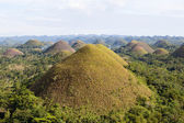 Chocolate Hills, Bohol Island, Philippines — Stock Photo