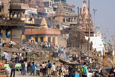 Varanasi, hindistan — Stok fotoğraf