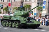Parade victory at Kiev, Ukraine — Stock Photo