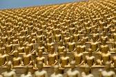 Wat Phra Dhammakaya  is a Buddhist temple in Bangkok, Thailand — Stock Photo
