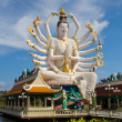 Statue of Shiva on Koh Samui island in Thailand — Stock Photo #47433819