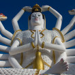 Statue of Shiva on Koh Samui island in Thailand — Stock Photo #47433821